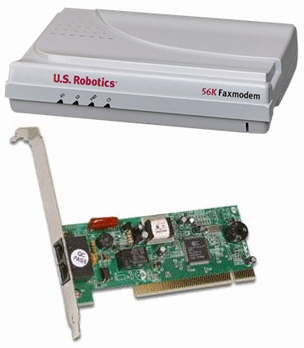 us robotics 56k dial up modems